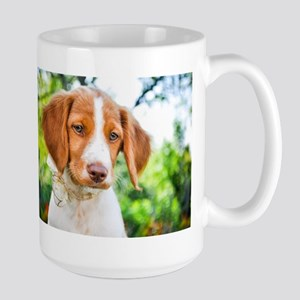 Brittany Puppy Large Mug