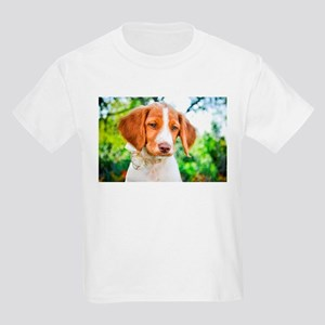 Brittany Puppy Kids Light T-Shirt
