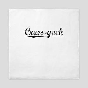 Croes-goch, Aged, Queen Duvet