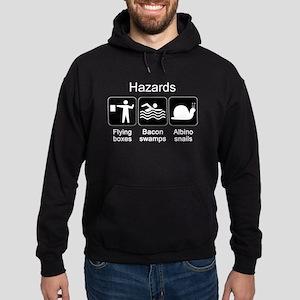 Geocaching Hazards Hoodie (dark)