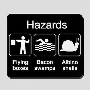 Geocaching Hazards Mousepad