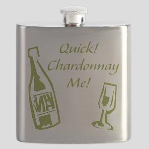Chardonnay Me Flask