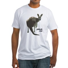 Peace Roo Shirt Made in the USA