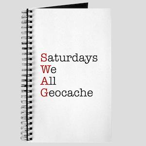 Saturdays we all geocache Journal
