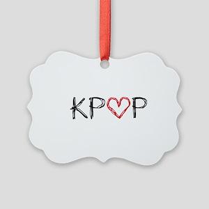 KPOP Scribble Picture Ornament