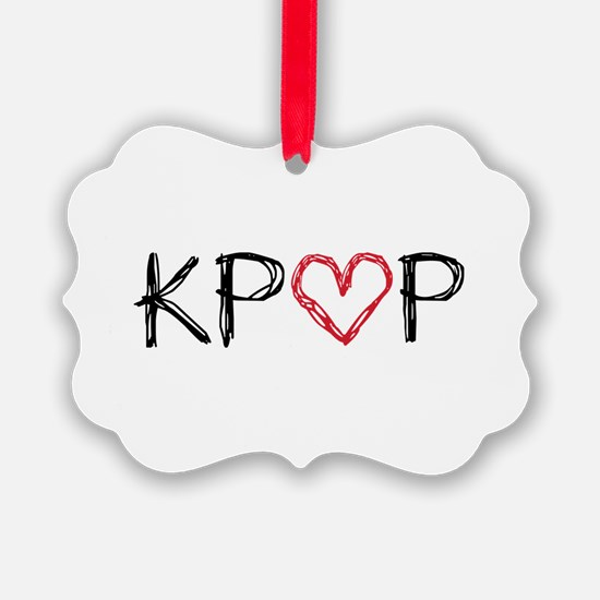 KPOP Scribble Ornament