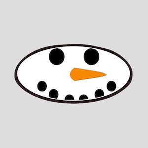 Snowman Face Patches