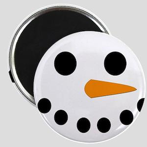 Snowman Face Magnet
