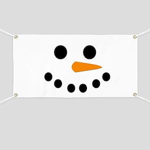 Snowman Face Banner