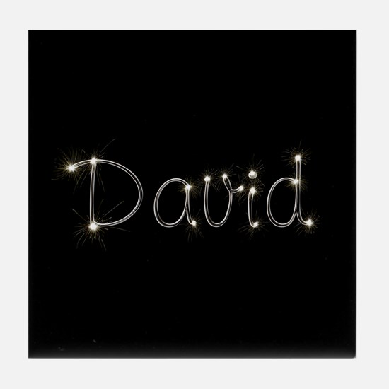 David Spark Tile Coaster