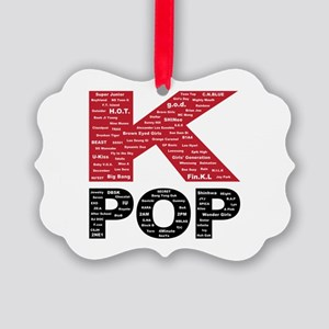 KPOP Artists Picture Ornament