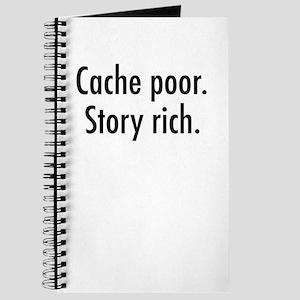 Cache poor Journal