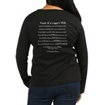 Prayer of a Logger's Wife Brown Long Sleeve Tee