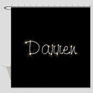 Darren Spark Shower Curtain