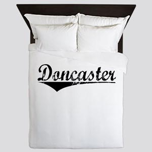 Doncaster, Aged, Queen Duvet