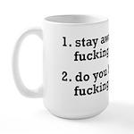 Do You Have Any Fucking Percocets Large Mug