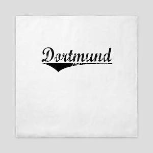 Dortmund, Aged, Queen Duvet