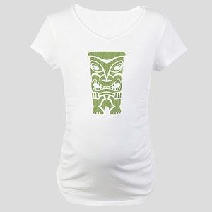Angry Tiki! Maternity T-Shirt