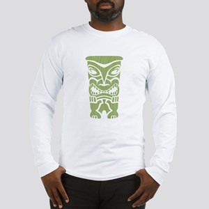 Angry Tiki! Long Sleeve T-Shirt