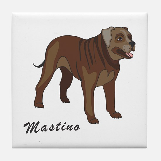 Mastino Tile Coaster