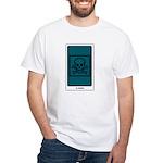 Death Tarot White T-Shirt