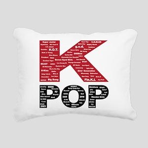 KPOP Artists Rectangular Canvas Pillow