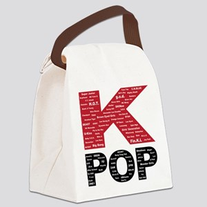 KPOP Artists Canvas Lunch Bag