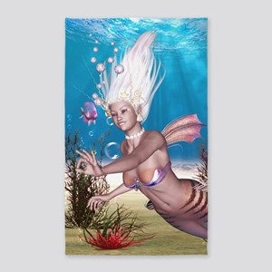 Mermaid! 3'x5' Area Rug