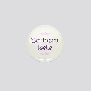 """Southern Belle"" Mini Button"