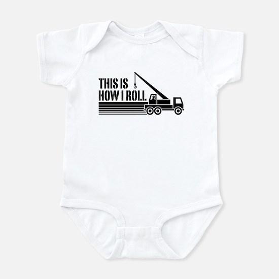 Crane Operator Infant Bodysuit