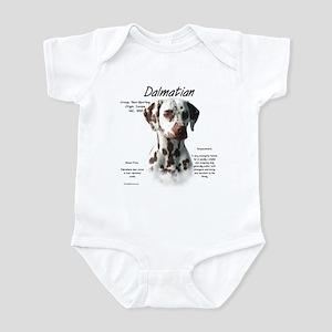 Dalmatian (liver spots) Baby Light Bodysuit