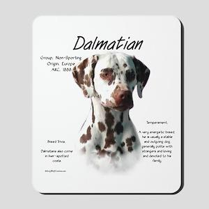 Dalmatian (liver spots) Mousepad