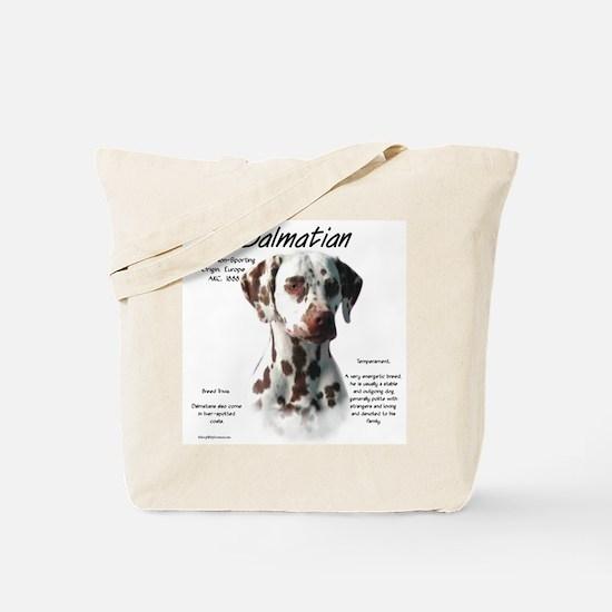 Dalmatian (liver spots) Tote Bag