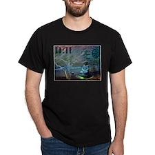 11:11 Buddha Dark T-Shirt