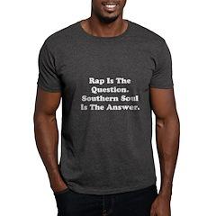 W02 Men's T-Shirt: Rap Is The Question. . .
