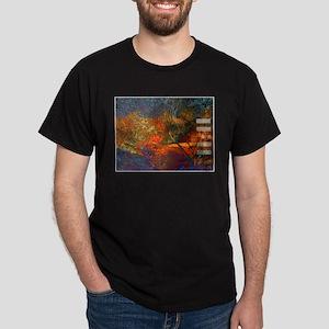 11:11 Fire Dark T-Shirt