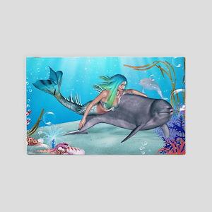 The Mermaid 3'x5' Area Rug