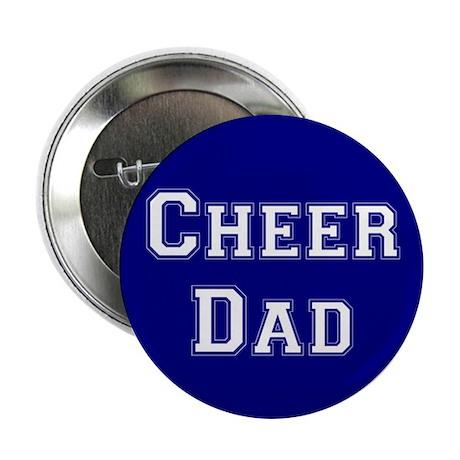 Cheer Dad Blue Button