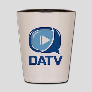 DATV Logo Shot Glass