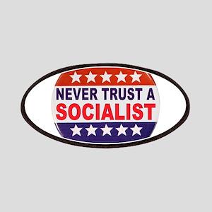 SOCIALIST POLITICAL BUTTON Patches