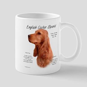 English Cocker (red) 11 oz Ceramic Mug