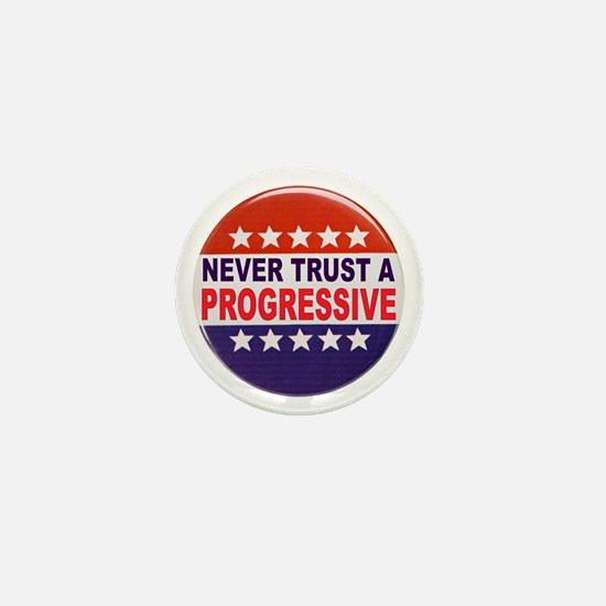 PROGRESSIVE POLITICAL BUTTON Mini Button