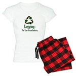 Logging Green Industry Women's Light Pajamas