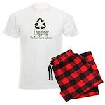 Logging Green Industry Men's Light Pajamas