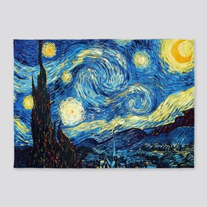 Starry Night 5'x7'Area Rug