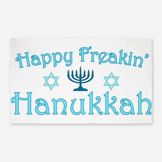 hanukkah.png 3'x5' Area Rug