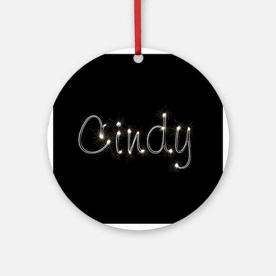 Cindy Spark Ornament (Round)