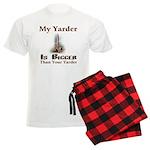 My Yarder Men's Light Pajamas