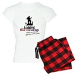 logging - blood sweat tears Women's Light Pajamas