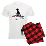 logging - blood sweat tears Men's Light Pajamas